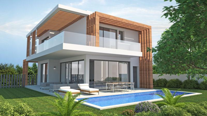 Contemporary villas for sale near Marbella