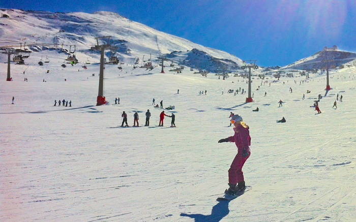 Europe's southernmost ski resort just two hours from the Costa del Sol