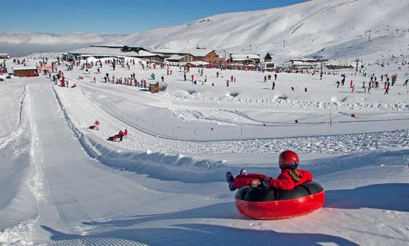 Alternative activities in the Sierra Nevada ski resort near the Costa del Sol