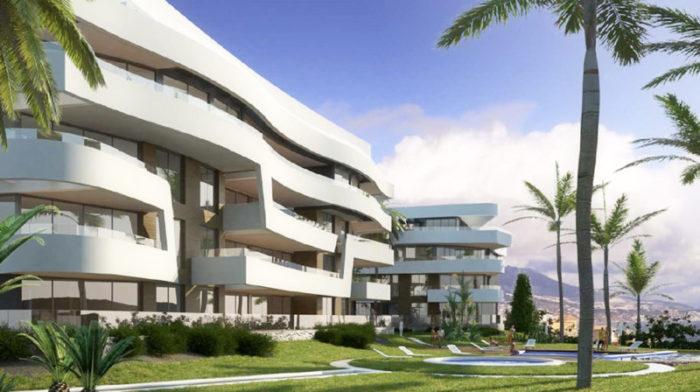 Beachfron Mijas Costa apartments for sale at exclusive pre-release prices