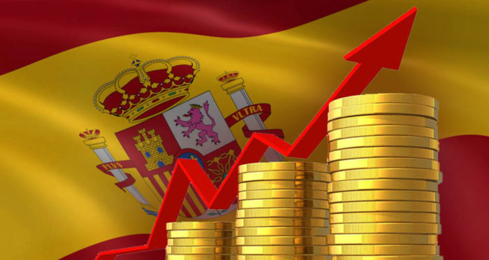 Booming economic growth in Spain