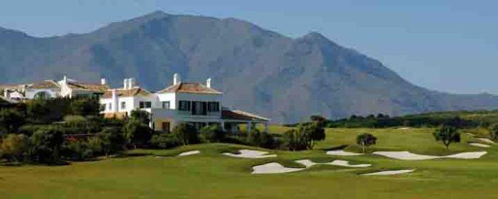 Finca Courtesin golf course on the Costa del Sol