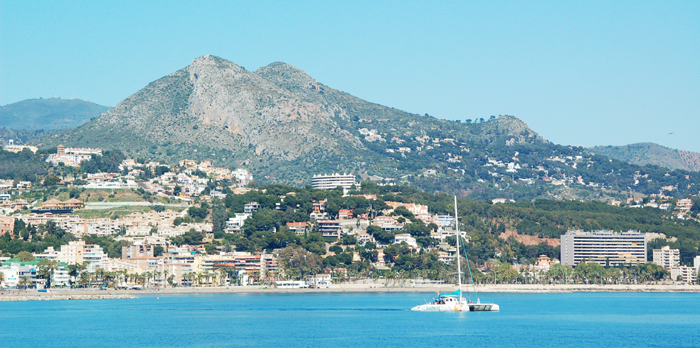 The Costa del Sol, one of Spain's top tourist destinations