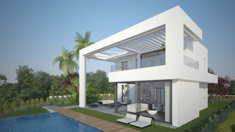 Sea view villa for sale in Mijas