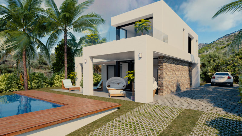 Contemporary villa for sale in Mijas