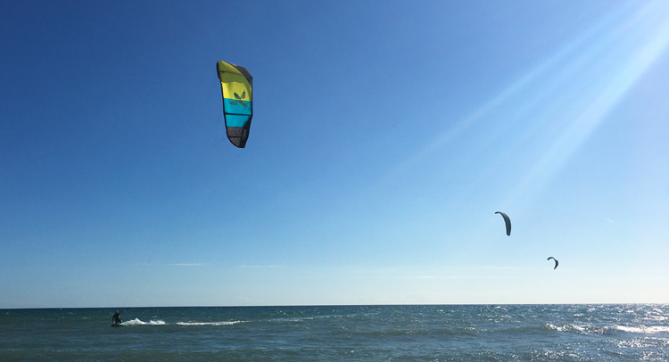 Kitesurfing on the Costa del Sol