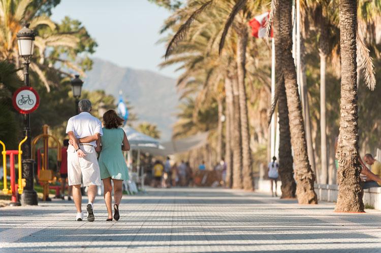 San Pedro beachfront boulevard