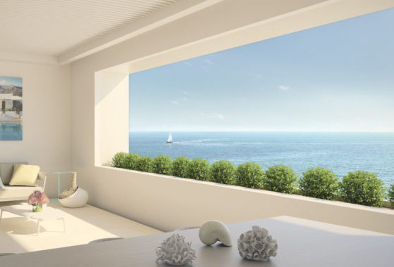 Luxury beachfront apartments for sale in Estepona