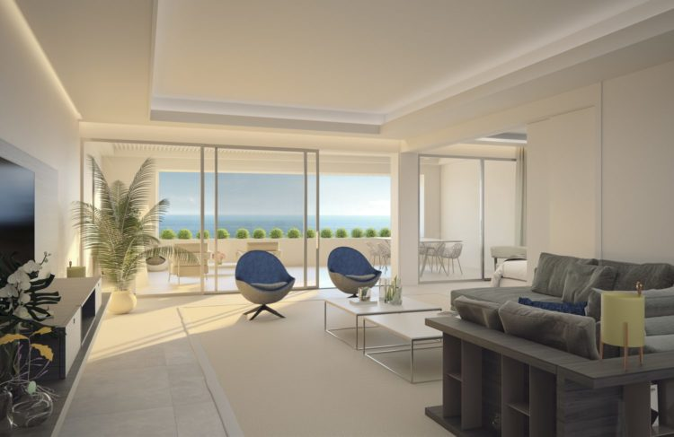 Beachfront property for sale in Estepona
