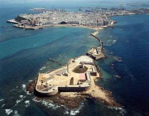 Cádiz capital of the Costa de la Luz