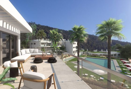 Luxury apartments for sale in Benahavis village