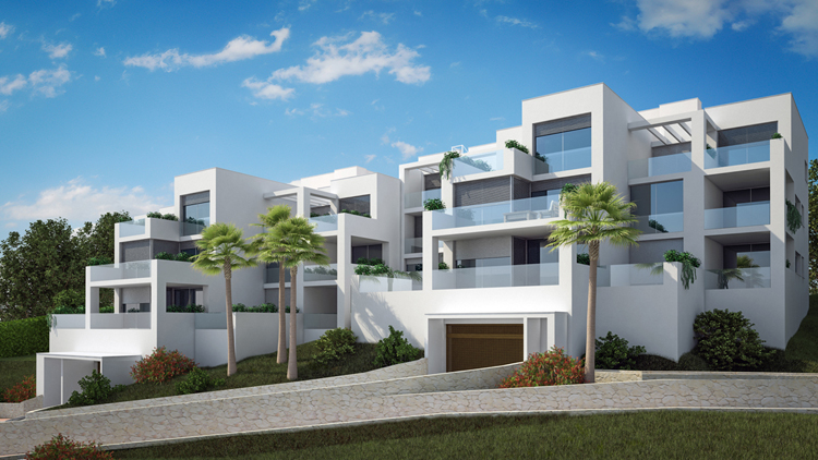Sea view apartments & penthouses for sale in Benalmadena