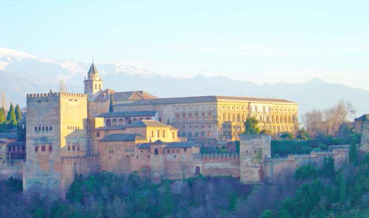 The Alhambra Palace, one of Andalucia's most visited attractions