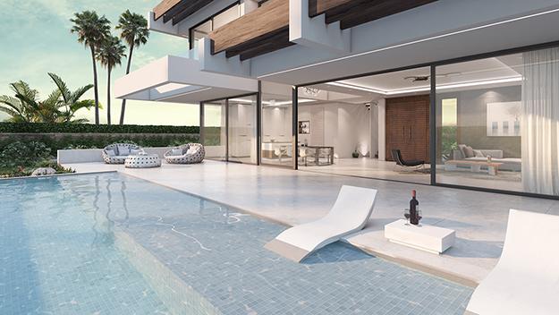 Beachside villa for sale in San Pedro, Marbella