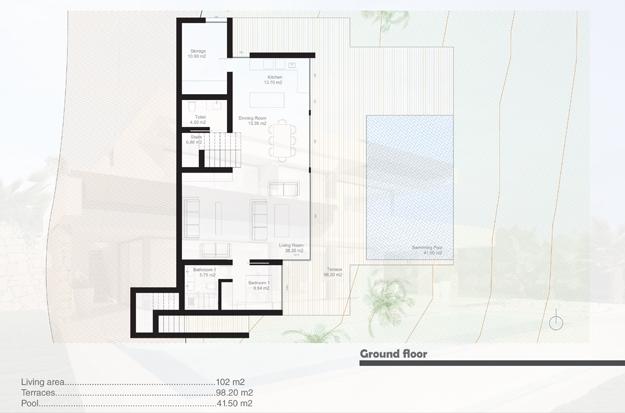 Contemporary new build villa for sale in Benalmadena