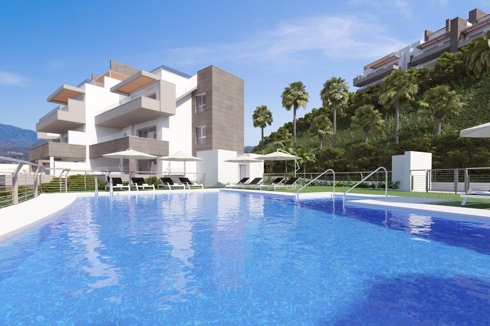 Golf apartments for sale in La Cala de Mijas