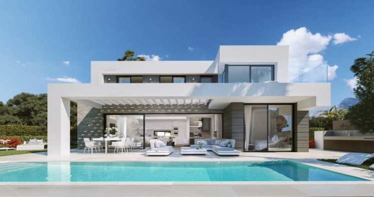 Modern villa for sale in Cabopino