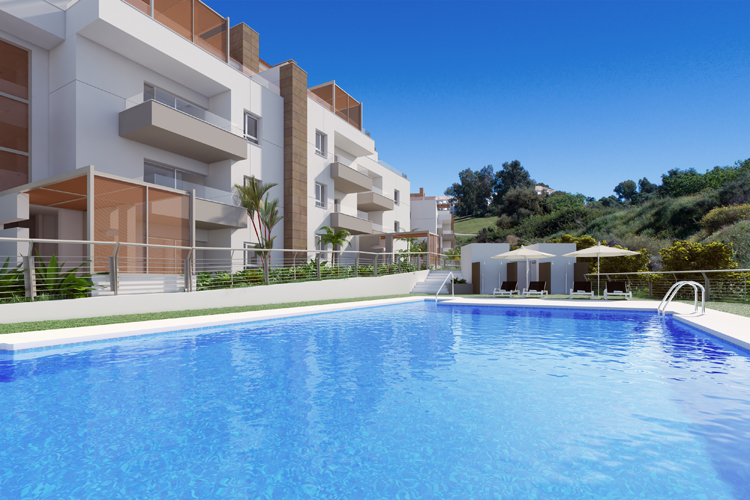Apartments for sale in La Cala Golf resort