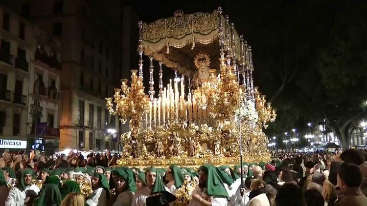 Semana Santa celebrations in Malaga