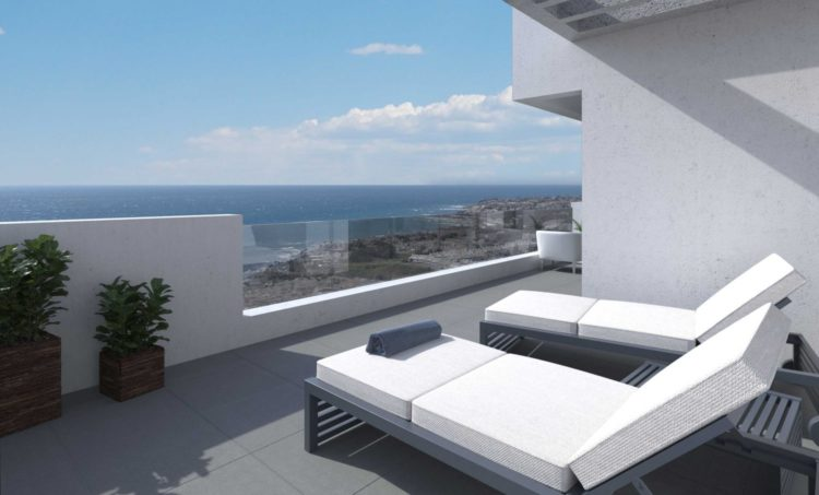 Sea view apartments for sale in La Cala de Mijas