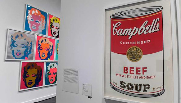 Andy Warhol retrospective at Malaga's Picasso Museum