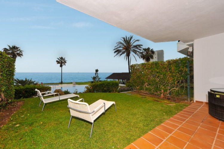 Beachfront property for sale in Mijas Costa
