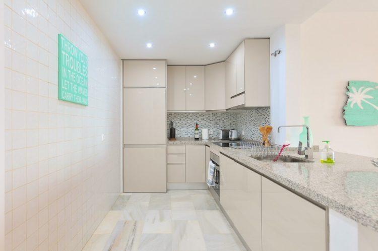 Beachfront apartment for sale in Mijas Costa