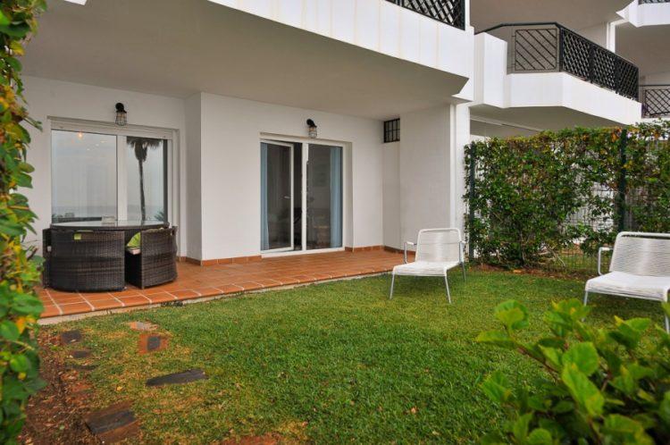 Frontline beach property for sale in Mijas Costa
