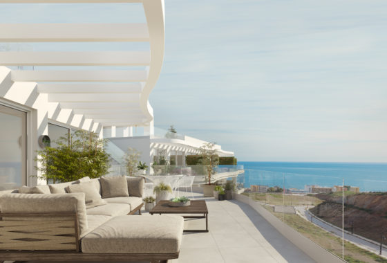 Sea view apartment for sale in Fuengirola