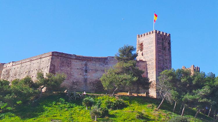 The 12th century castle overlooks the Fuengirola coastline