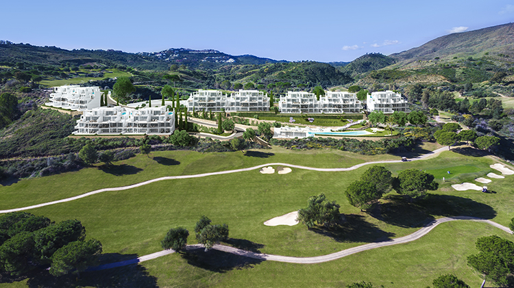 Golf property for sale in Mijas Costa