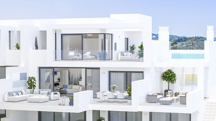 Golf apartments for sale in La Cala de Mijas