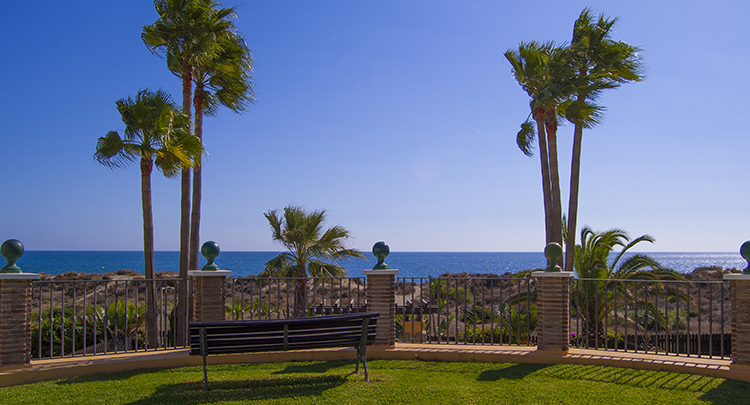 Beachfront property in east Marbella