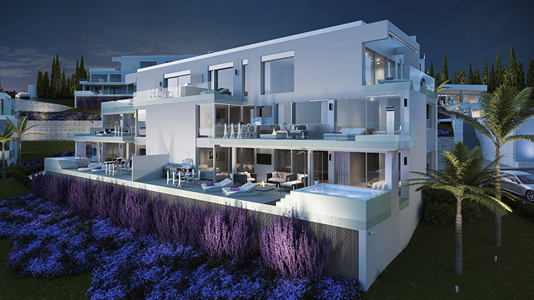 Luxury apartments for sale in La Cala golf resort