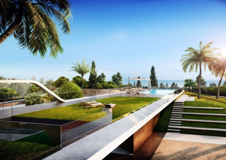 Sea view townhouse for sale in El Chaparral, Mijas Costa