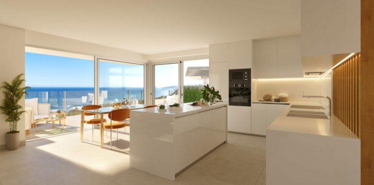 Sea view townhouse for sale in Eden Resort, Mijas Costa