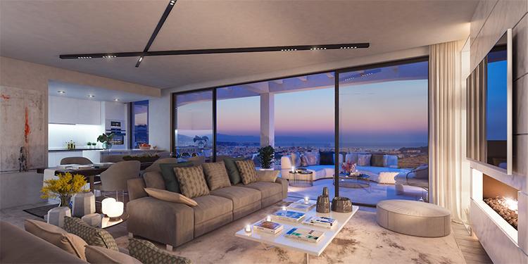 Apartments for sale in Cerrado de Aguila golf
