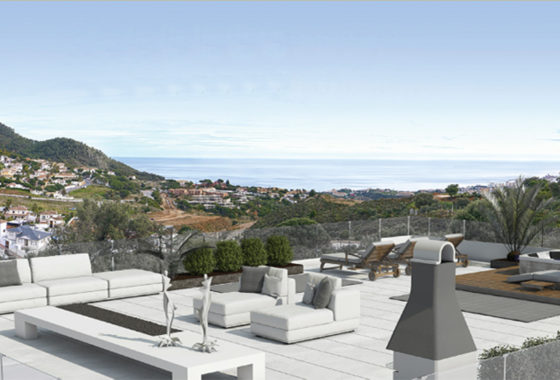 Villa for sale with views over Fuengirola