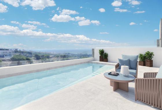 Golf and sea view villa for sale in Cabopino, Marbella