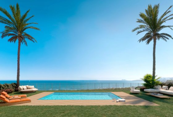 Sea view townhouse for sale in Eden Resort, Mijas Costa
