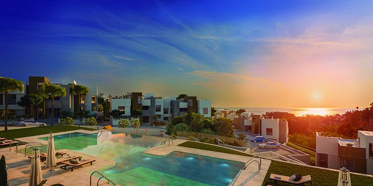 Sea and golf view homes for sale in Artola, Marbella
